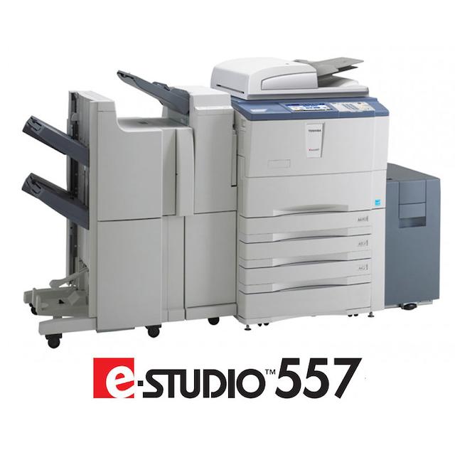 Máy photocopy Toshiba E-Studio 557/657 có thể photo qua mạng