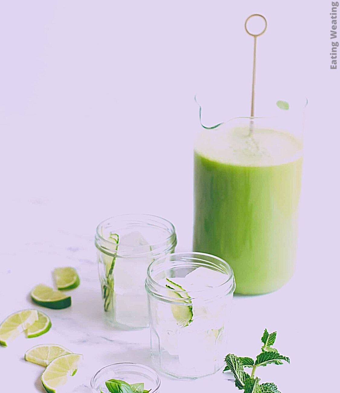 Cool and Refreshing Cucumber Agua Fresca