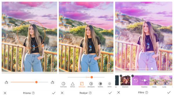 como alterar céu na foto