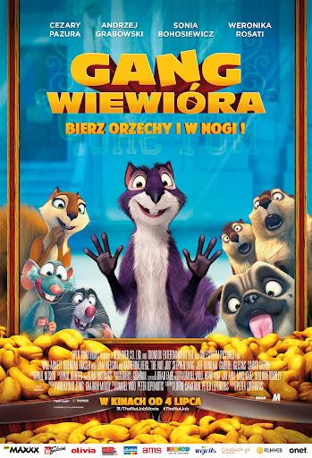 Polski plakat filmu 'Gang Wiewióra'