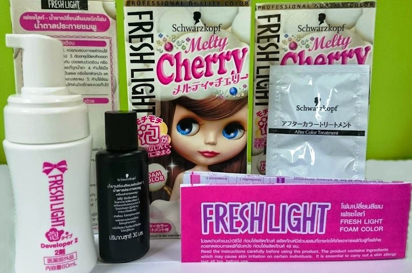 schwarzkopf fresh light hair color products philippines