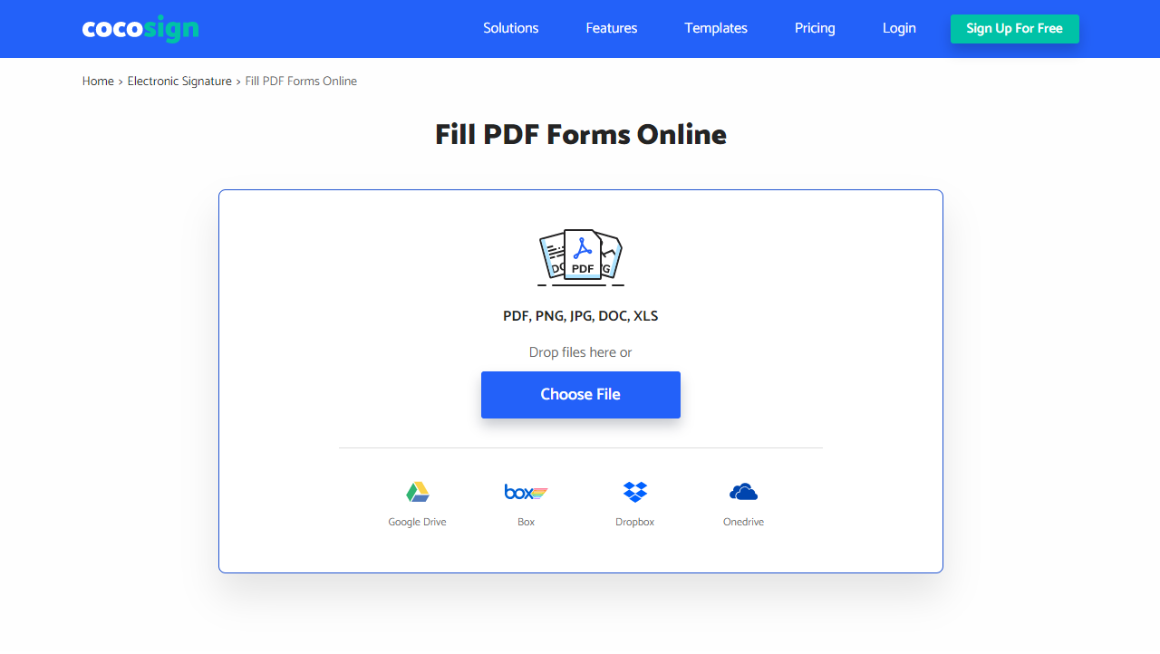 How to Sign PDF with Digital Signature Step 1