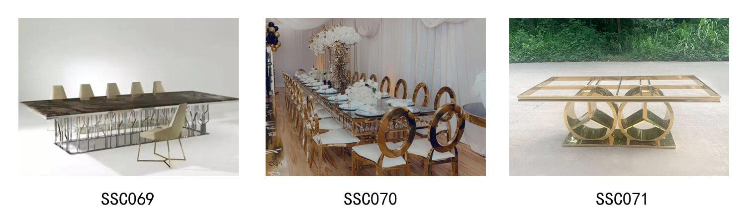 anquet tables wholesale