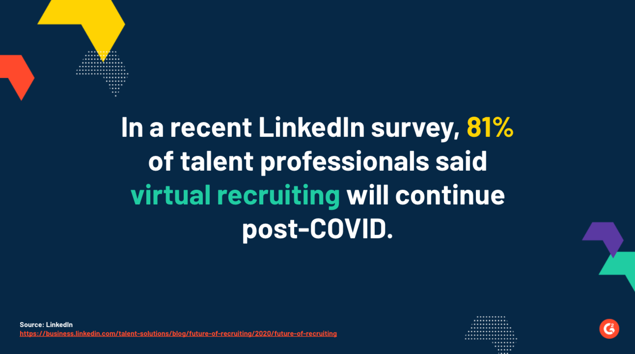 virtual recruiting statistics