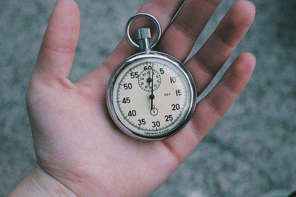 Time, Stopwatch, Clock, Hour, Minute, Second, Hand