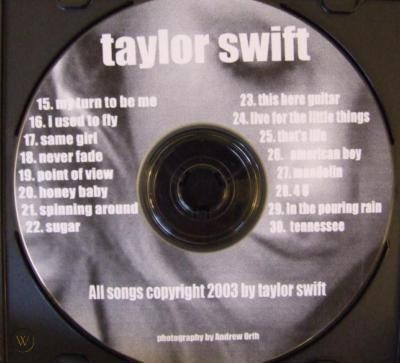 Taylor swift: chronological timestamps of songs written