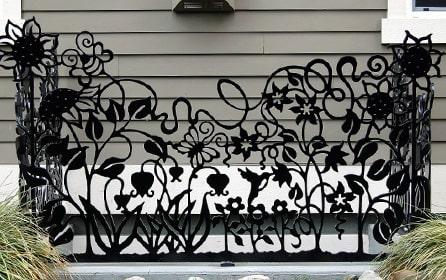 Декоративные ограды
