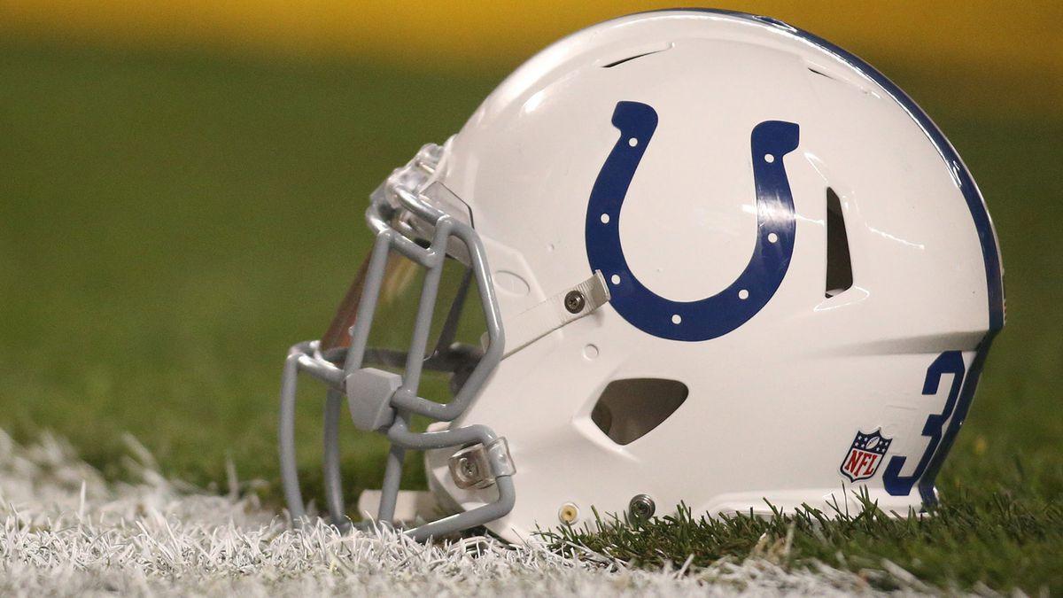 Hình móng ngựa của Indianapolis Colts có thể nhận ra trong nháy mắt
