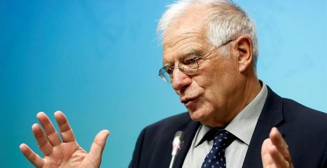 El ministro de Asuntos Exteriores, UE y Cooperación, Josep Borrell / EFE