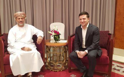 Зеленський повідомив про ще одну зустріч із оманським чиновником