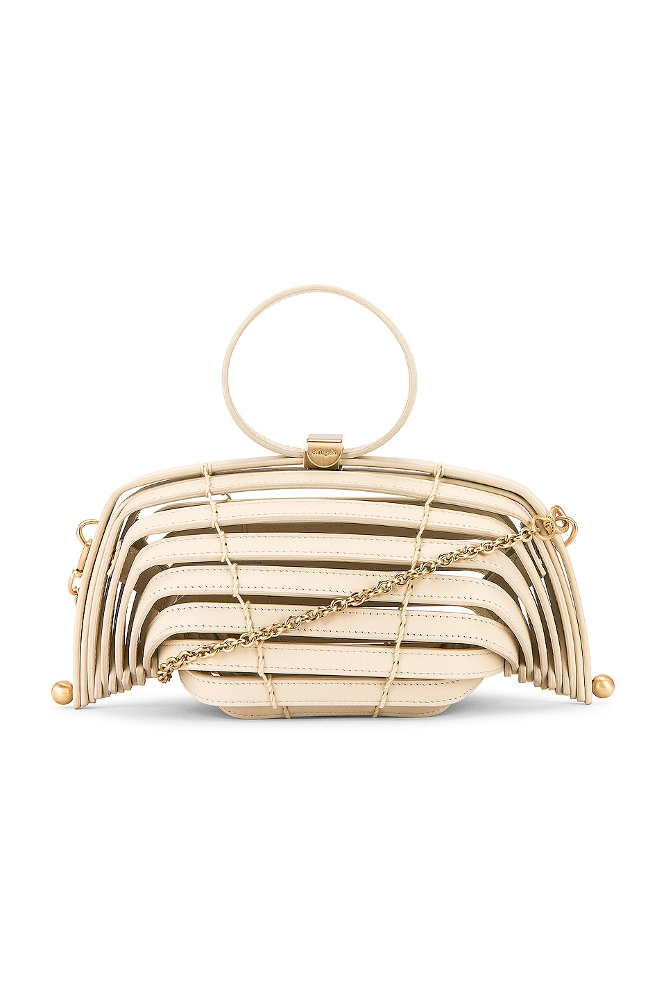 Off white mini cross-body bag is also one of the top-10 best -fashion gift-ideas for women.