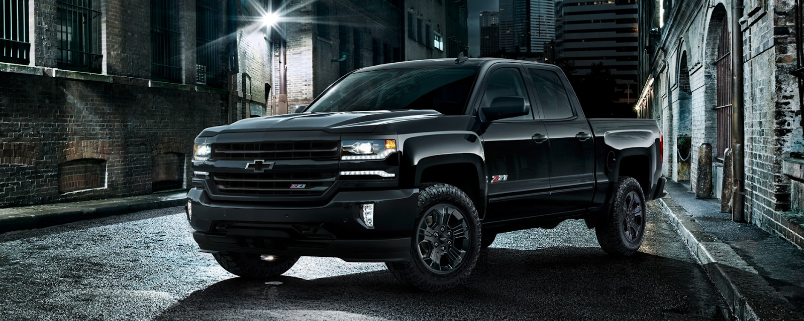 Are You Afraid Of The Dark Hopefully Not Because Midnight Edition Silverado Is A Sight To Behold All Black Everything Design Demands Your