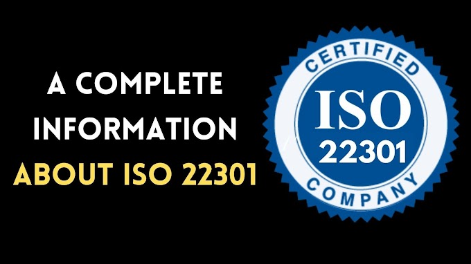 Complete information about ISO 22301