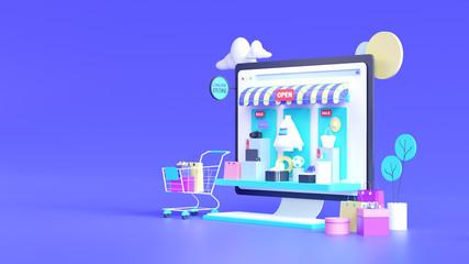 Fokus ke toko online