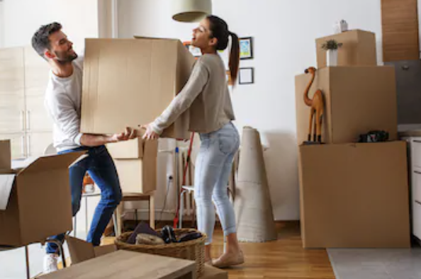 How to save time when moving house.