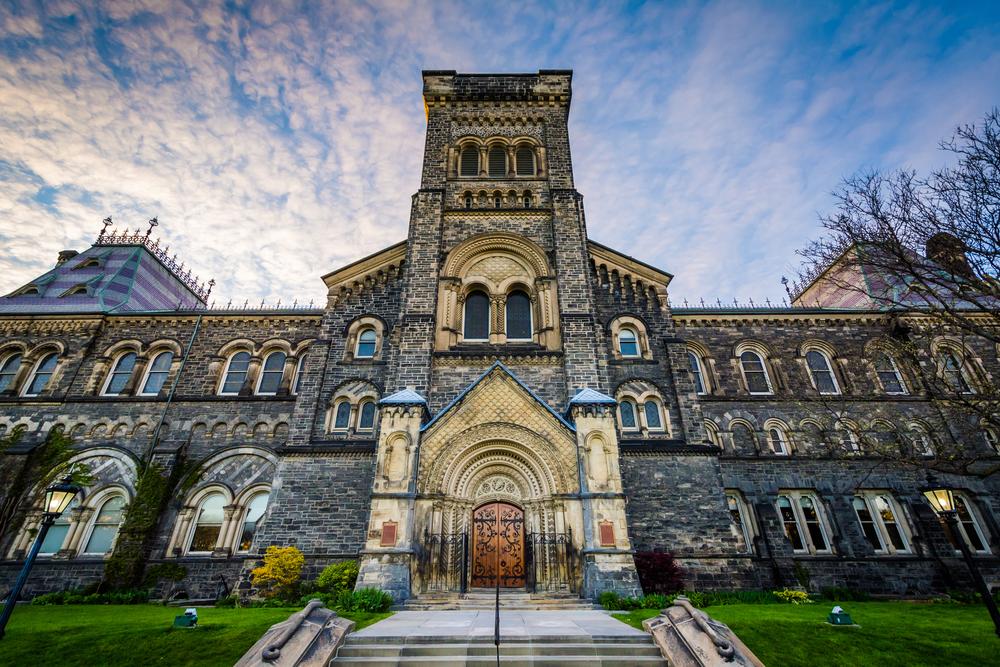 加拿大打工度假遊學留學必去景點多倫多大學St.George校區1