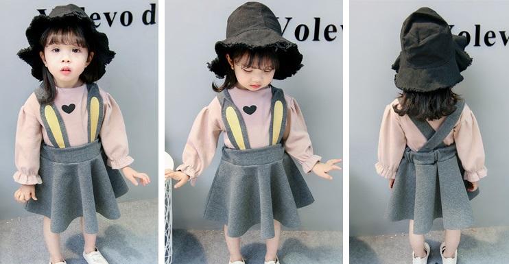 Sukienki dla dziewczynek z długim rękawem