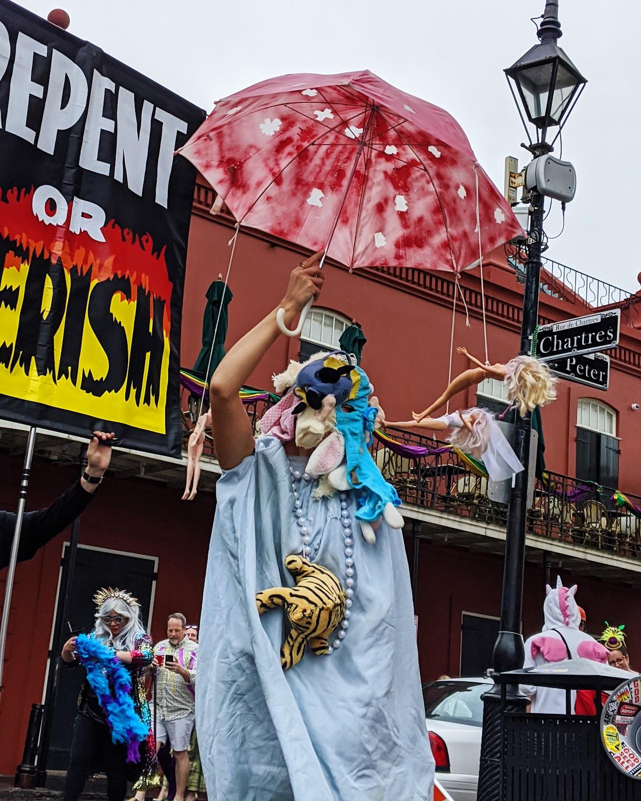 תחפושת מצעד מארדי גרא mardi gras ניו אורלינס מה לעשות איפה לישון
