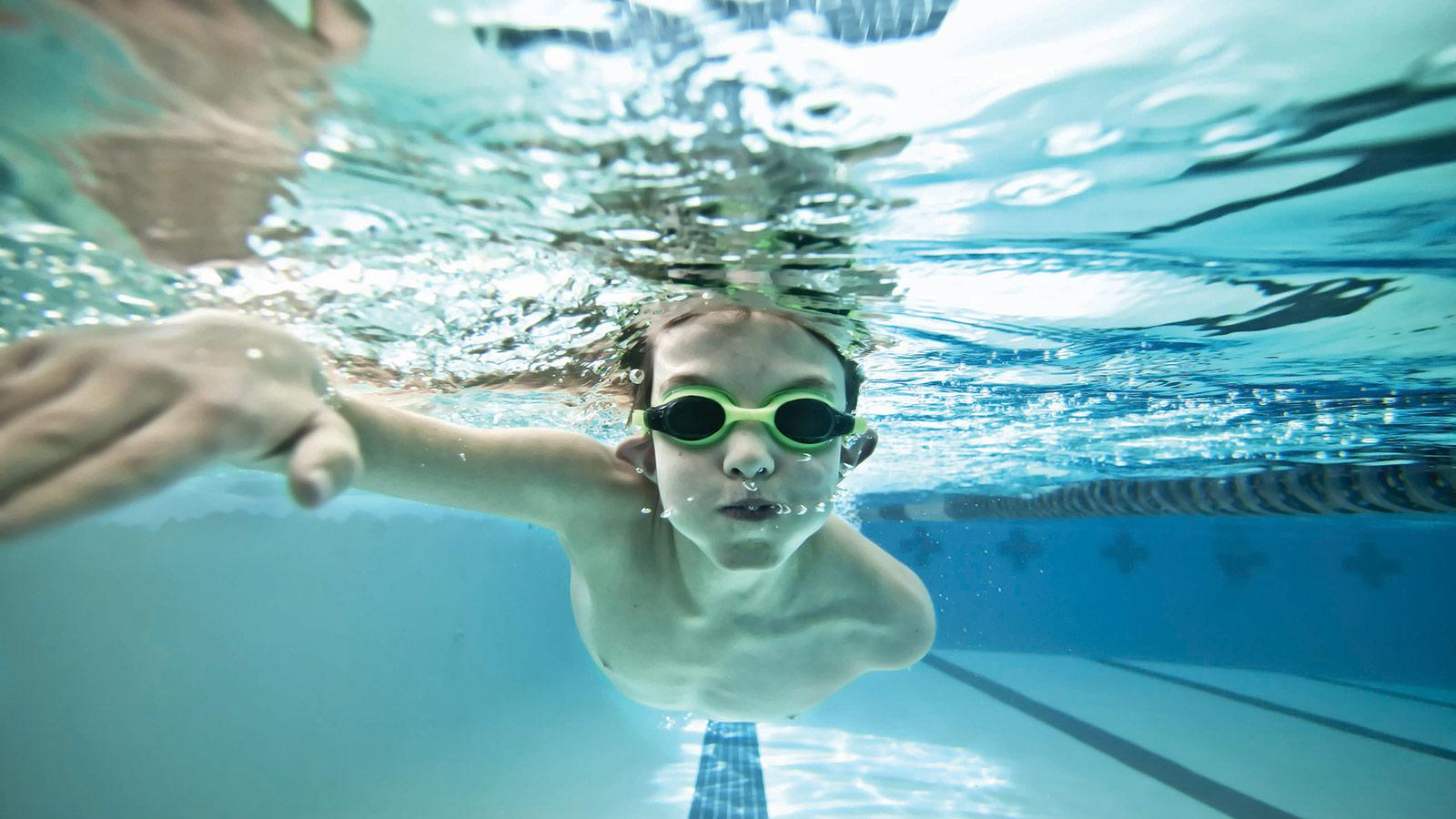 Image result for kids learning to swim