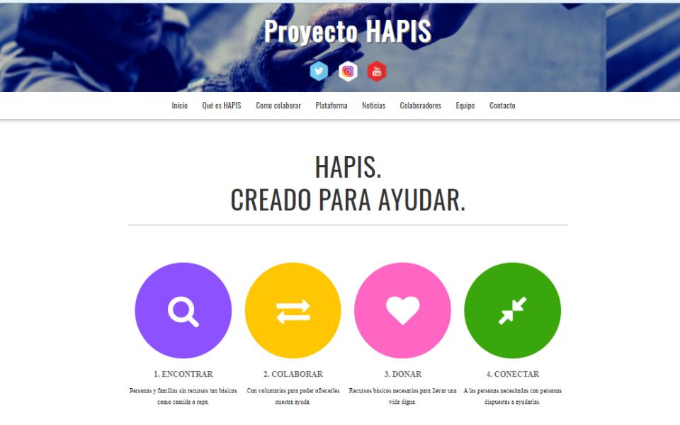 HAPIS launches website