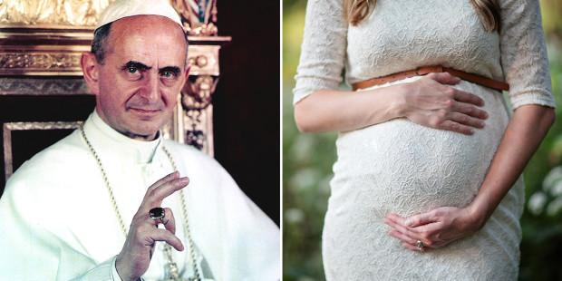 Đức Giáo hoàng nổi tiếng với giáo huấn về sự sống mang đến sự chữa lành cho một thai nhi khác