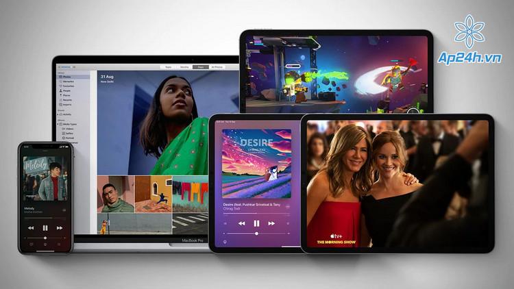Gói dịch vụ Apple One cao cấp giới hạn ở một số quốc gia