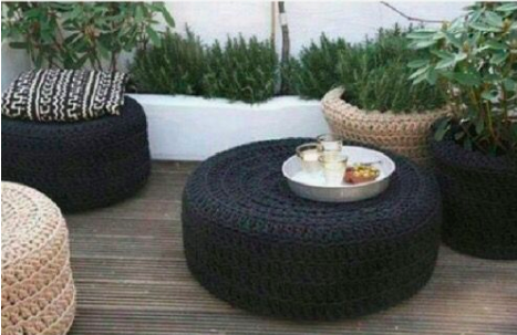 tyre outdoor furniture