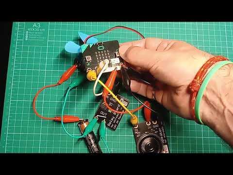 Vídeo: Ventilador controlado con termostato usando micro:bit