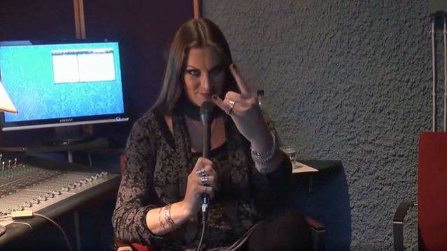 NIGHTWISH's FLOOR JANSEN 'Will Be Working On Being Very Pregnant' In Early 2017