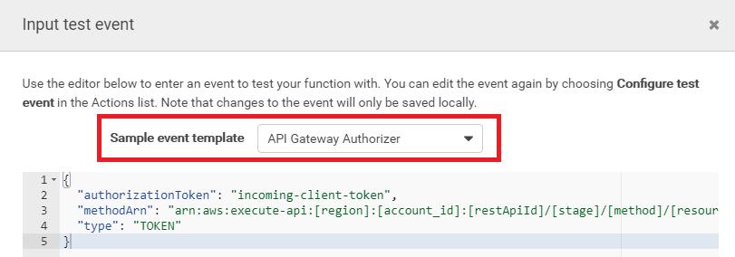 Aws Api Gateway Cognito Authorizer