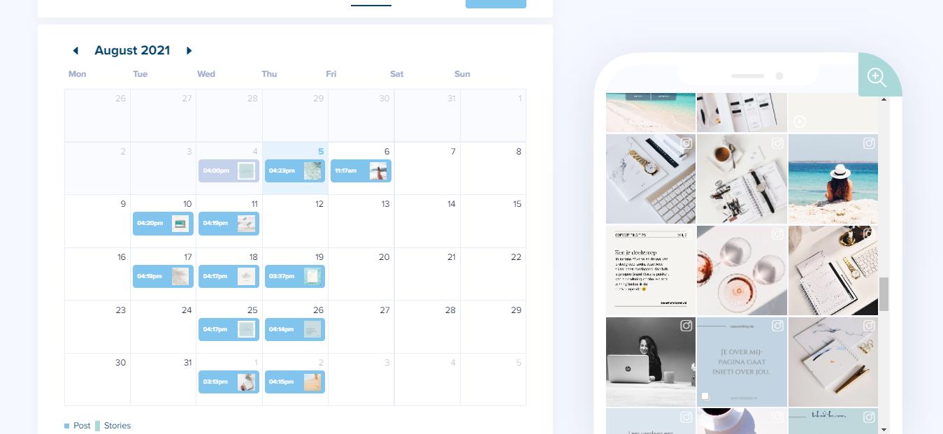 Plan in 1 dag je Instagram content voor 1 maand - taverne's teksten