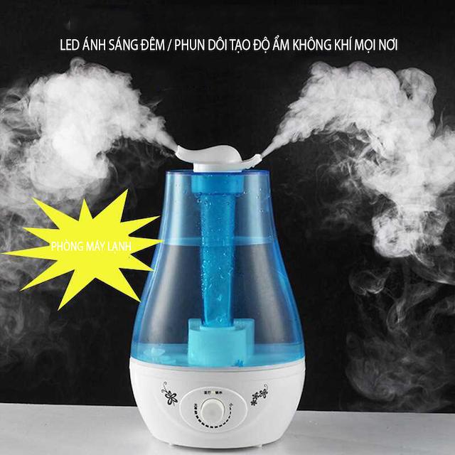 Máy phun sương tạo ẩm giúp mang lại bầu không khí trong lành