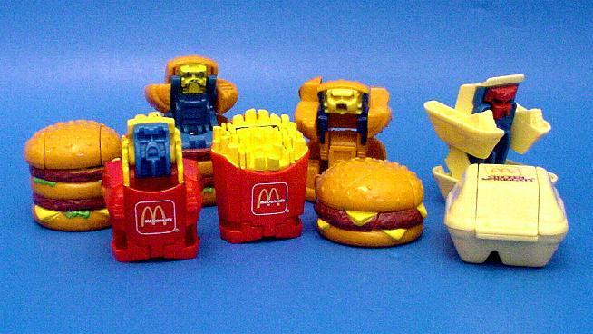 Image result for mcdonalds transformers