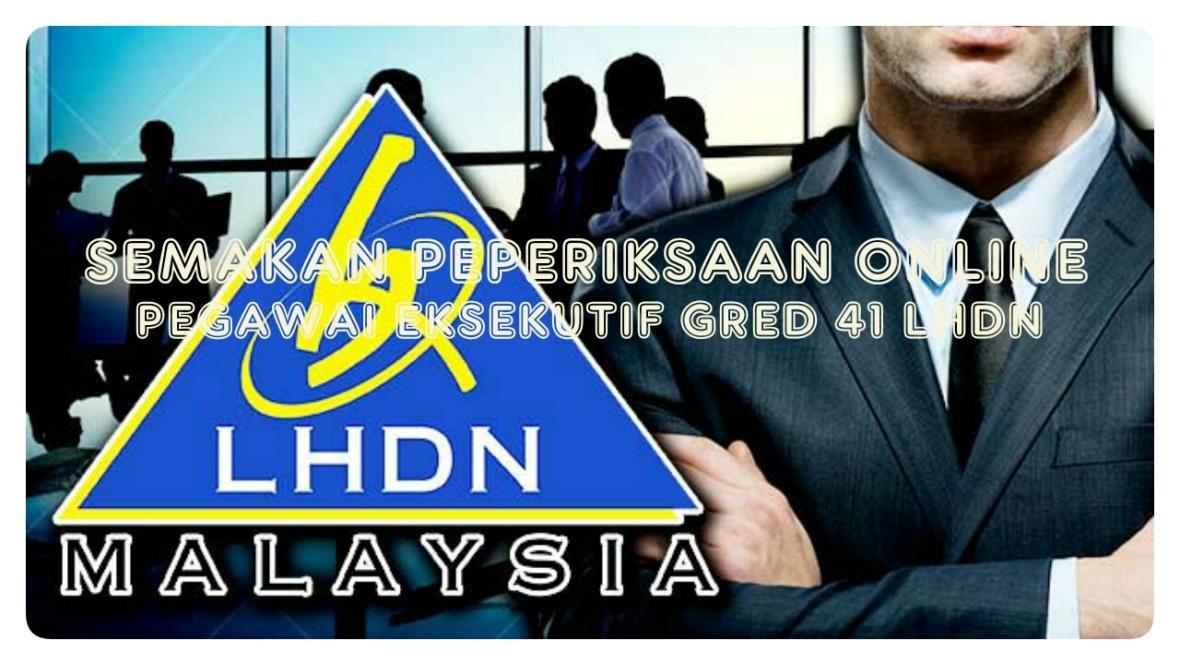 Image result for peperiksaan online lhdn pegawai esekutif gred 1