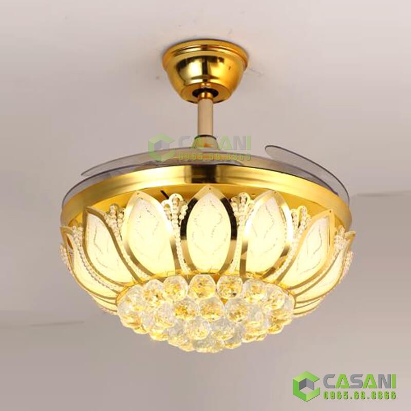 Top 5 mẫu quạt trần đèn cánh nhựa cao cấp giá chỉ từ 2.500.000 đồng