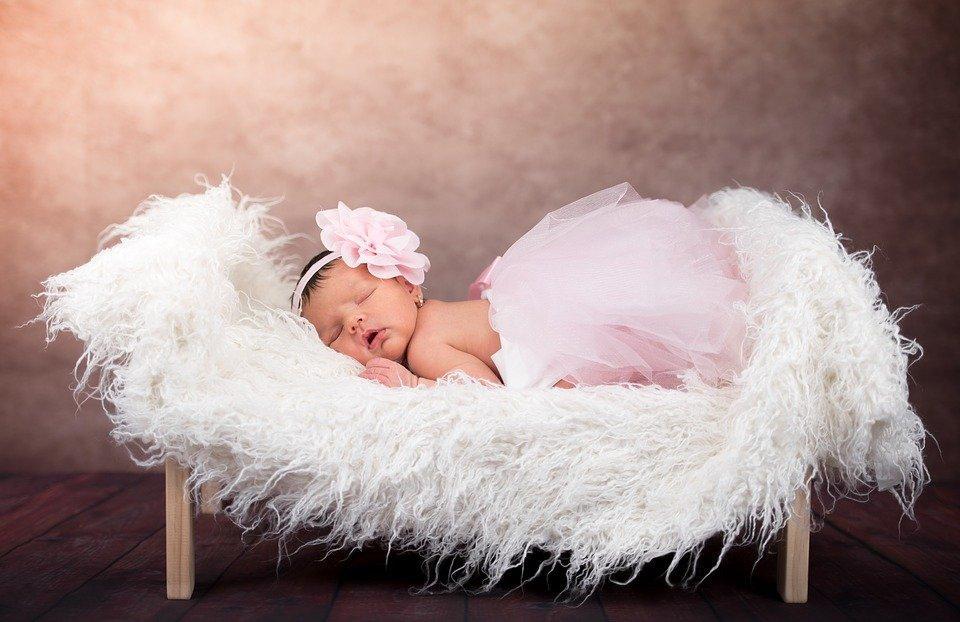 Baby, Girl, Newborn, Newborn Baby, Baby Girl, Asleep