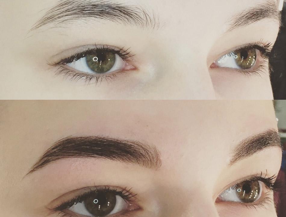 Что лучше: хна или краска для бровей, отзывы – Перманентный макияж | Окрашивание  бровей | Могилев