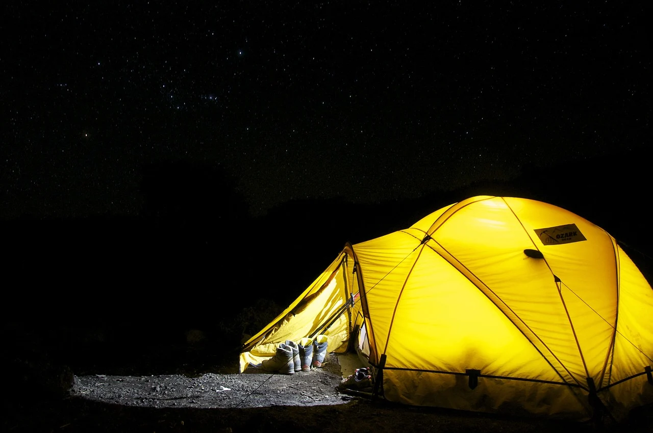 Guide to Motorcycle Camping: essentials