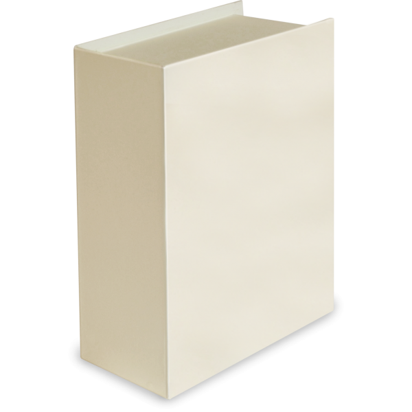 Regular Book Box—Ivory
