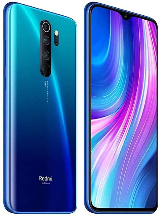 Amazon.com: Xiaomi Redmi Note 8 Pro Smartphone, 6 GB + 64 GB, Blu (Ocean  Blue) : Cell Phones & Accessories
