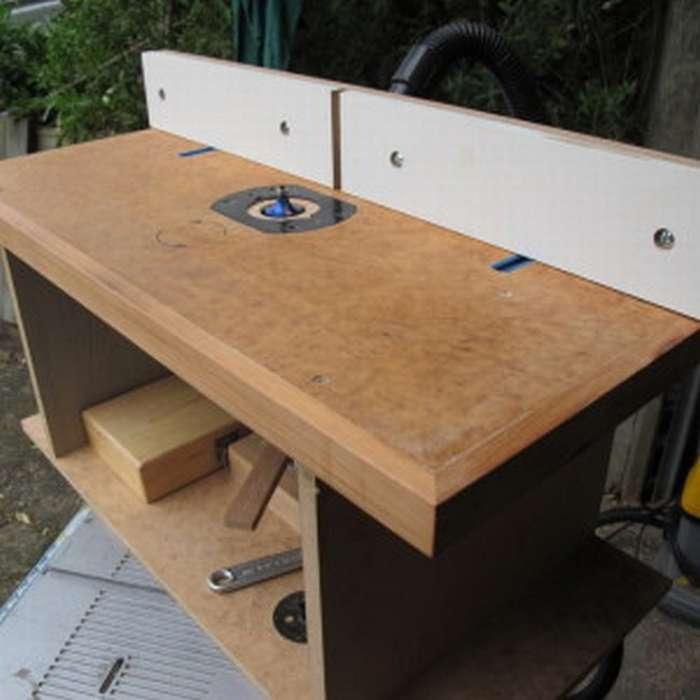 Самостоятельное изготовление фрезерного стола