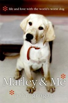 Cover of book 'Marley & Me' by John Grogan