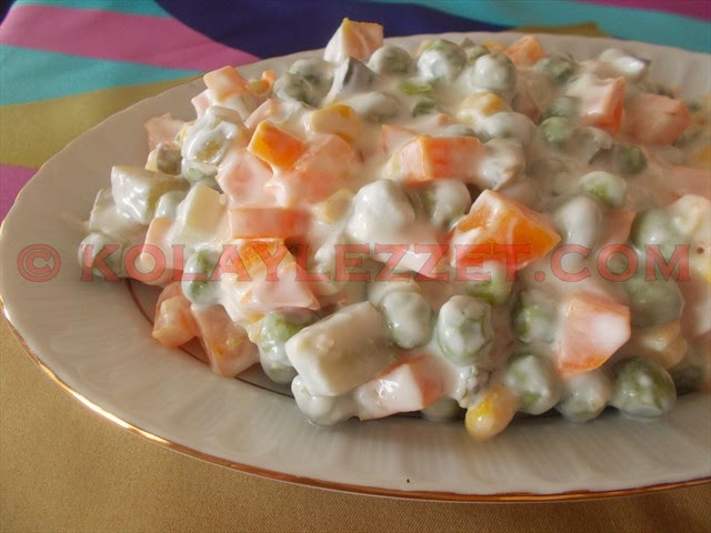 MAYONEZSİZ-RUS-SALATASI-(Amerikan Salatası)
