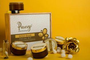 Purevy Gold Facial Kit