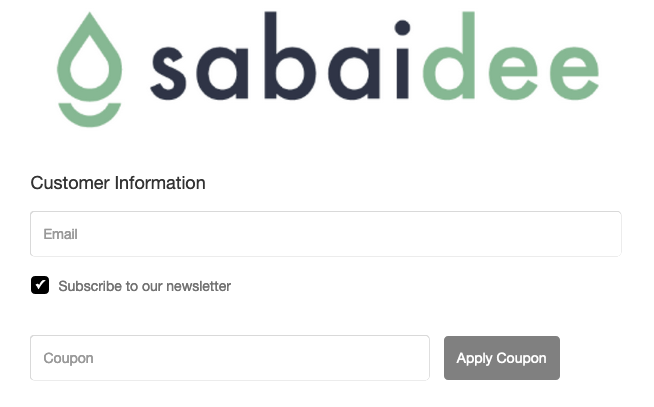 Sabaidee coupon code