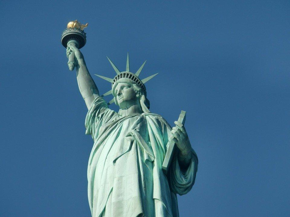 Statue Of Liberty, New York, Monument, Manhattan