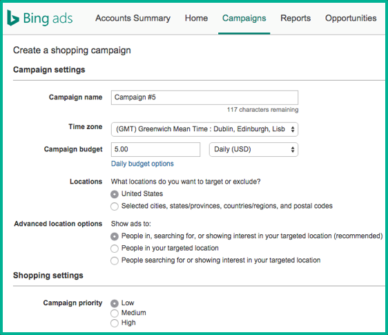Bing Shopping optimization tip: set priority levels for each campaign