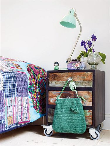 Nightstand Ideas with Distressed Drawers