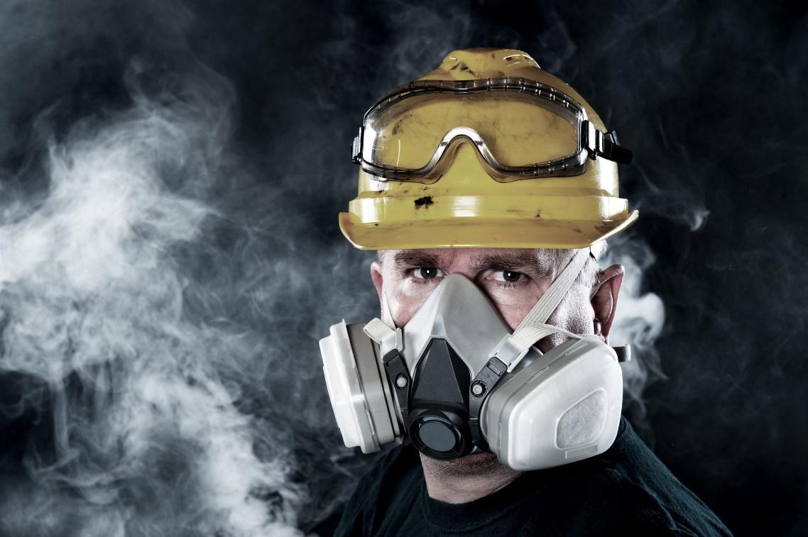 Phân biệt mặt nạ chống độc và mặt nạ chống khói