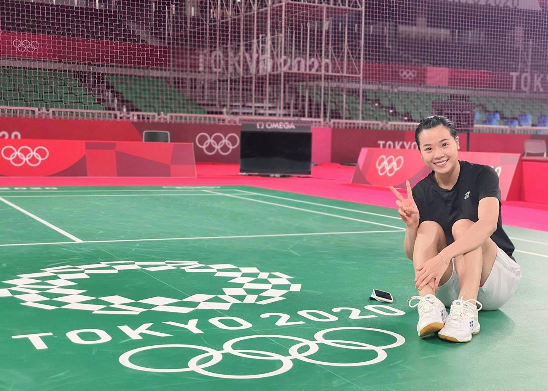 Vẻ đẹp hotgirl cầu lông Việt Nam đua tài tại Olympic Tokyo
